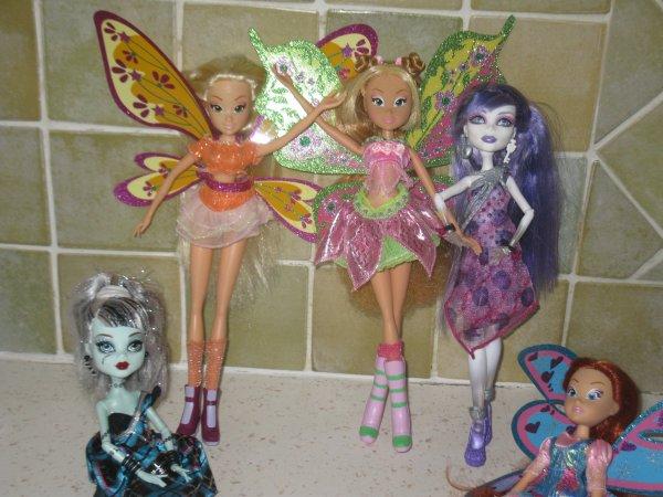 mes poupées!