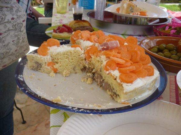 Le gâteau !! =D
