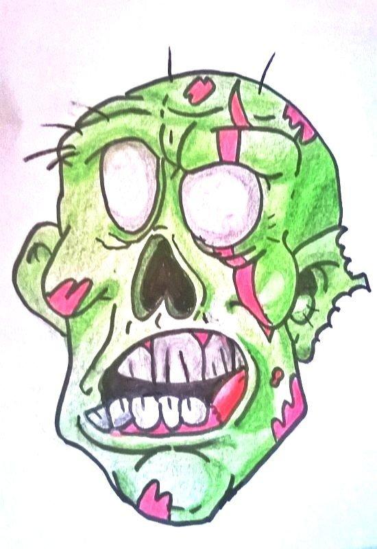 Zombies  cartoon .