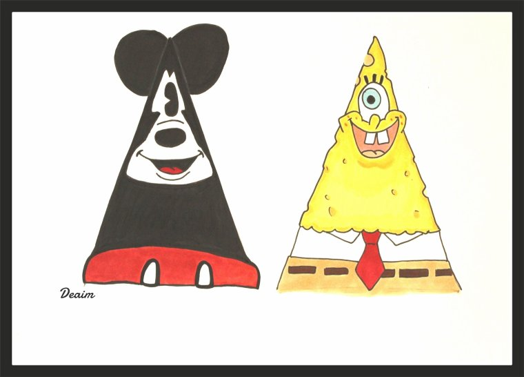 """Ordo-Illuminatee "" :    Mouse Mickey  and Bob Sponge"