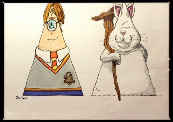 """Ordo-Illuminatee "" :  Potter Harry and  Master Karin"
