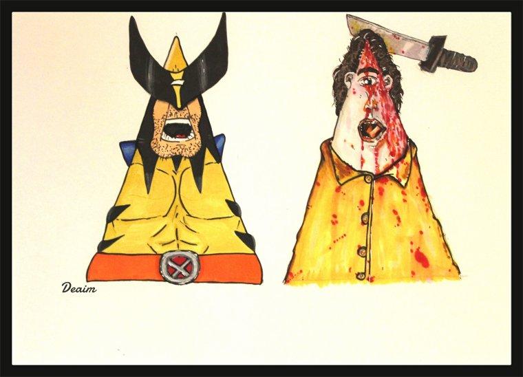 """Ordo-Illuminatee "" :  Wolverine and   Dawn of the Dead"
