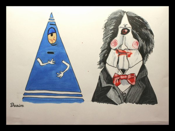 """Ordo-Illuminatee "" :  Towelie and Billy the Puppet"
