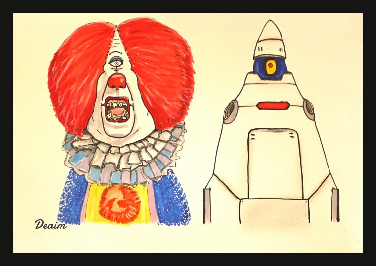 """Ordo-Illuminatee"" :  Pennywise and T-Bob"