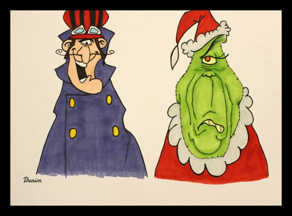 """Ordo-Illuminatee"" :  Dastardly Dick and The Grinch"