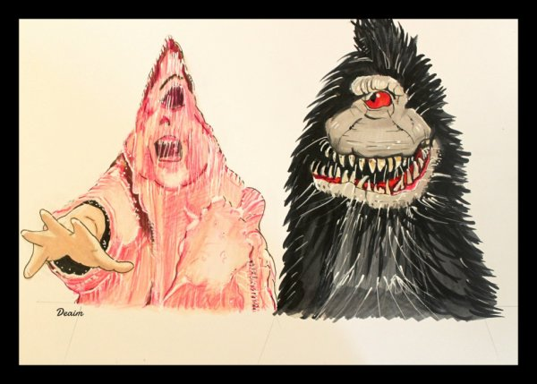 """Ordo-Illuminatee"" :  The Blob and Critters"