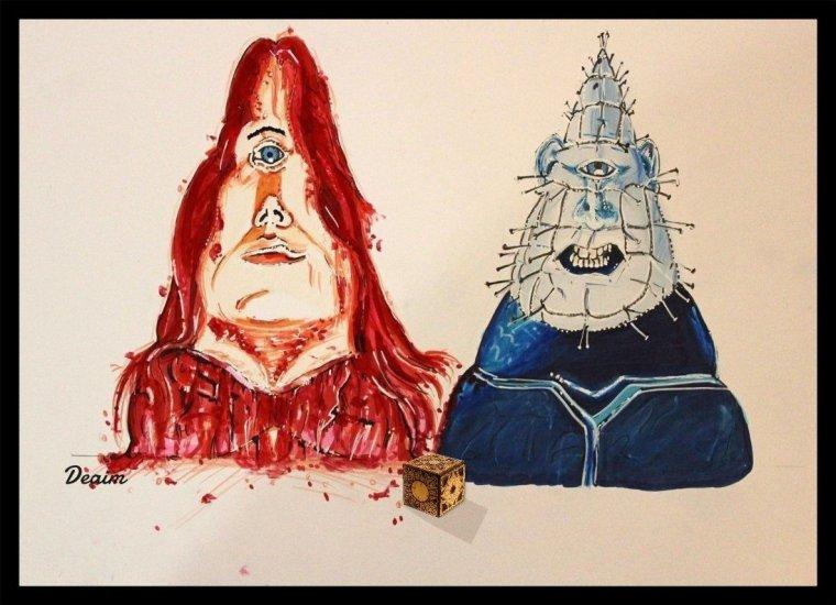 Ordo-Illuminatee :     Carrie and Pinhead