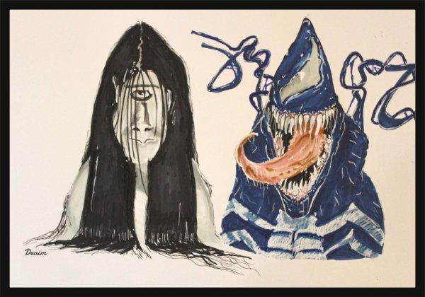 """""""Ordo-Illuminatee""""  :    Kayako and Venom"""