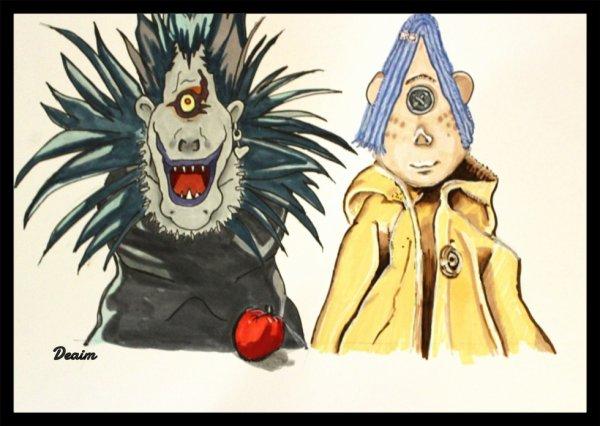 """""""Ordo-Illuminatee"""" :  Ryuk and Coraline"""