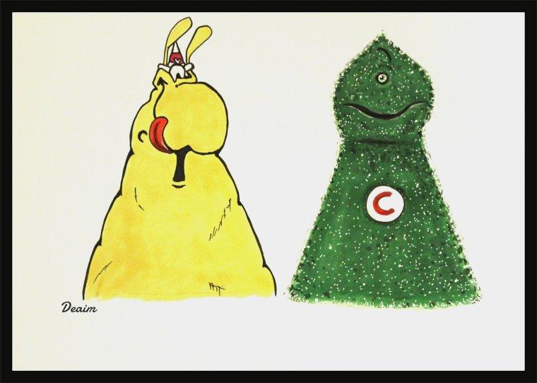 """""""Ordo-Illuminatee"""" :   GrosQuik and Mr Cetelem"""