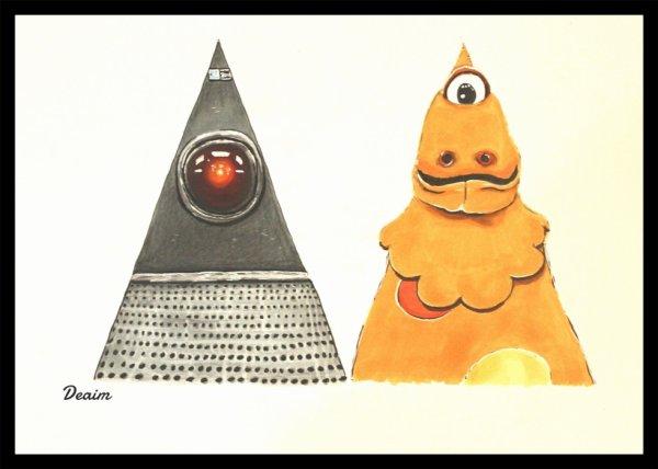 """""""Ordo-Illuminatee"""" : Hal 9000 and Casimir"""