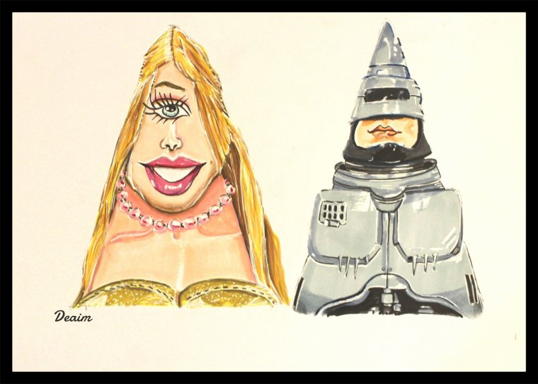 Ordo-Illuminatee :   Barbie and Robocop