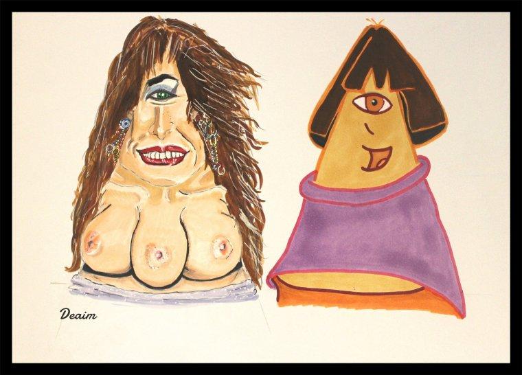 """""""Ordo-Illuminatee"""" :   Mary and  Dora Marquez"""