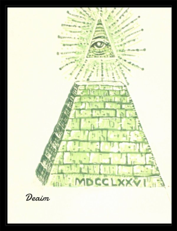 """Special Ordo-Illuminatee "" :  All-seeing eye of god"