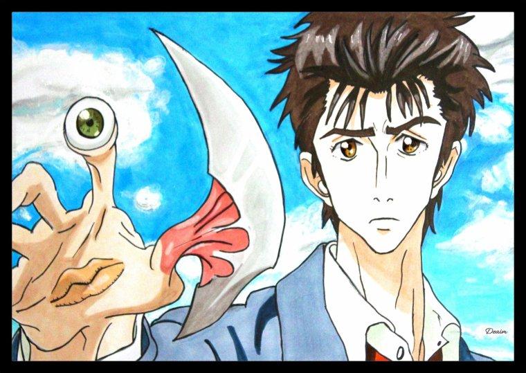Parasite ( Kiseijū ) :   Migi and Shin'ichi Izumi