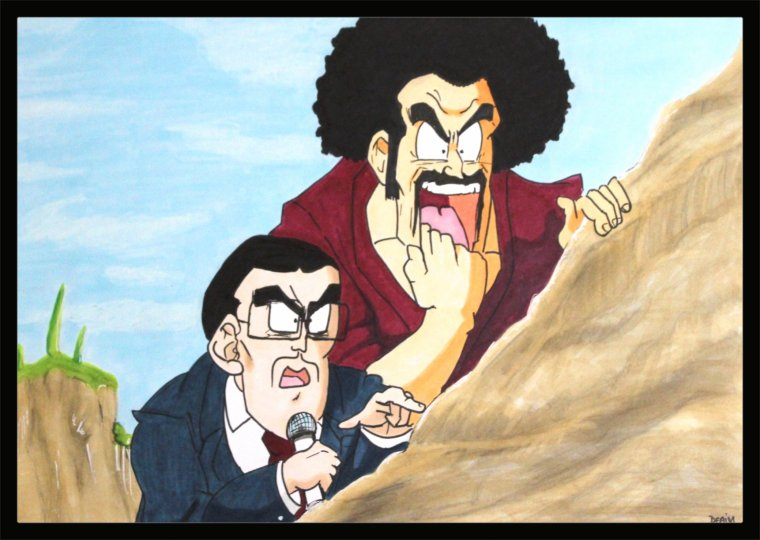 Dragon ball Z : Jimmy  Firecracker and Mr Satan  /Deaim