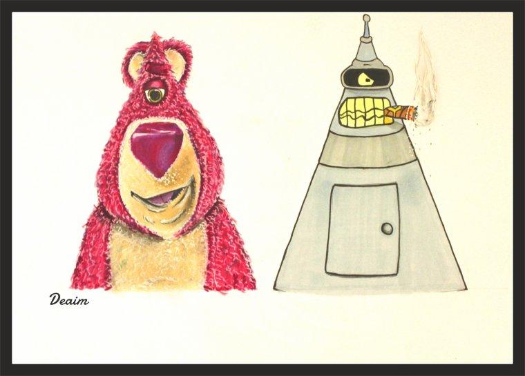 Ordo-Illuminatee :   Lotso and Bender