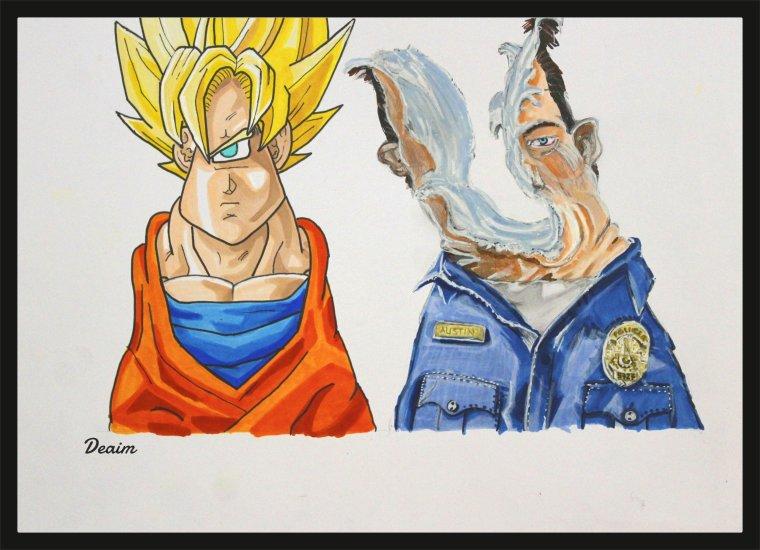 Ordo-Illuminatee :   San Goku and  T1000