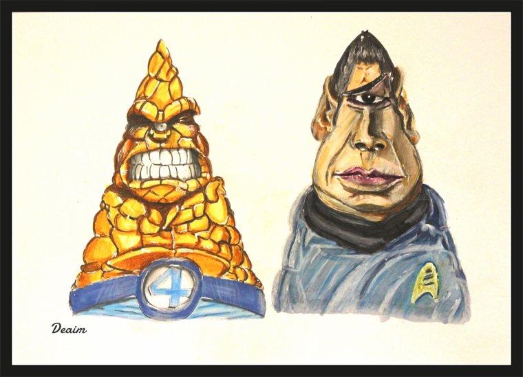 "Ordo-Illuminatee :  The  ""   Thing ""  and  Mr Spock"