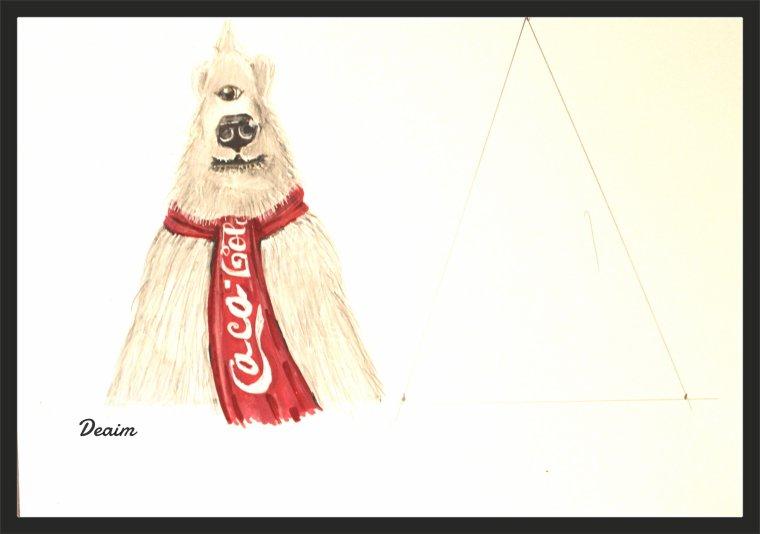 """Ordo-Illuminatee "" :Coca-Cola polar bear and..."