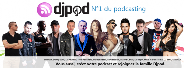 DJ POD - N°1 DU PODCASTING