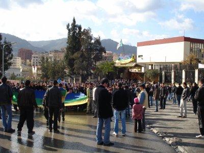 Marche du MAK de yennayeur 2961 à Tizi Wezu