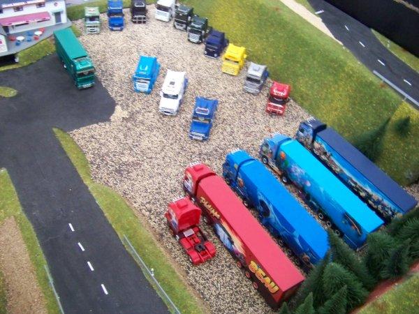 1er Meeting sur le parking du centre routier...Le 11-12 août 2012