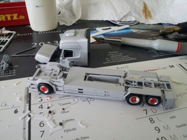 Et voilà le SCANIA Torpedo est terminée.... Première partie