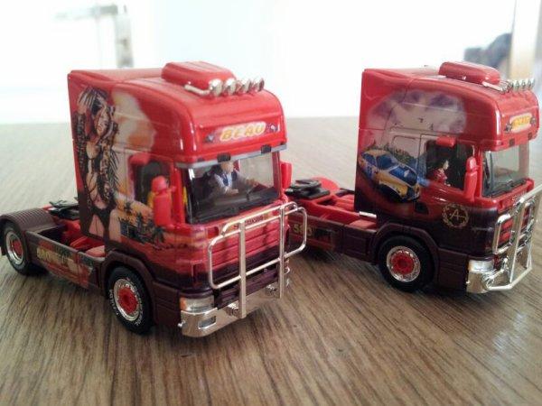 Petites modifications sur camions des transports beau....