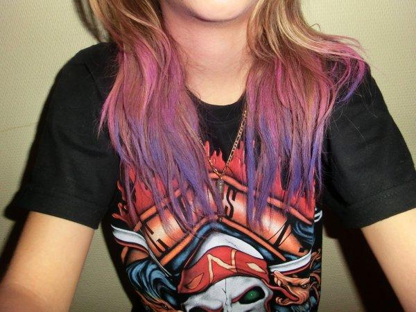 3ème Tutoriel : Se colorer les cheveux avec des pastels!