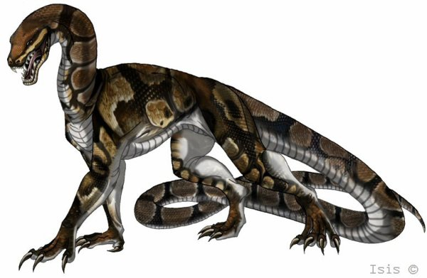 python dinausaure