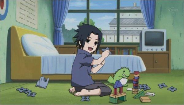 Sasuke :3 Mais qu'il est kawaiiiiii! ><
