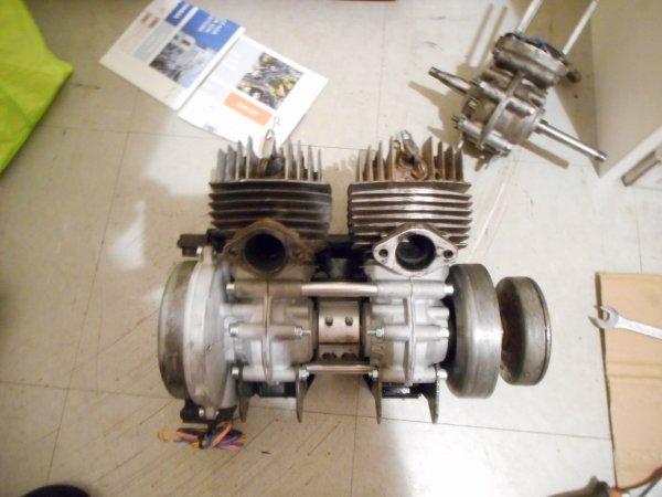 montage des moteurs