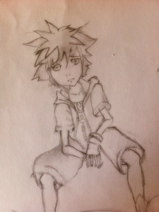 (My Drawings) Kingdom Hearts - Sora
