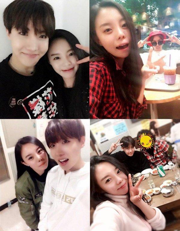 Jung Dawon la soeur de J-Hope - Blogue de Mina-Chama