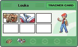 Equipe pokemon de louka