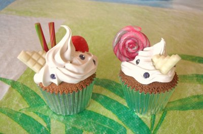 Petits cup cakes !