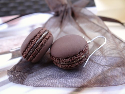 Commande BO macarons chocolat :