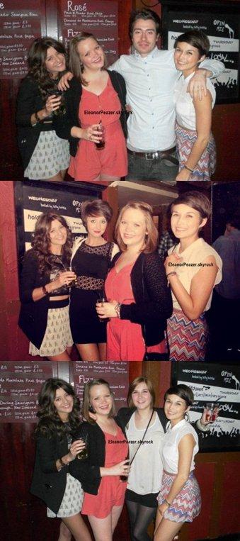 Danielle danse pour Mylène et Eleanor avec des amis