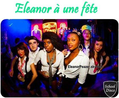 Danielle danse pour LMFAO, Eleanor a la SwagParty, les voix des filles, Eleanor a une fête.