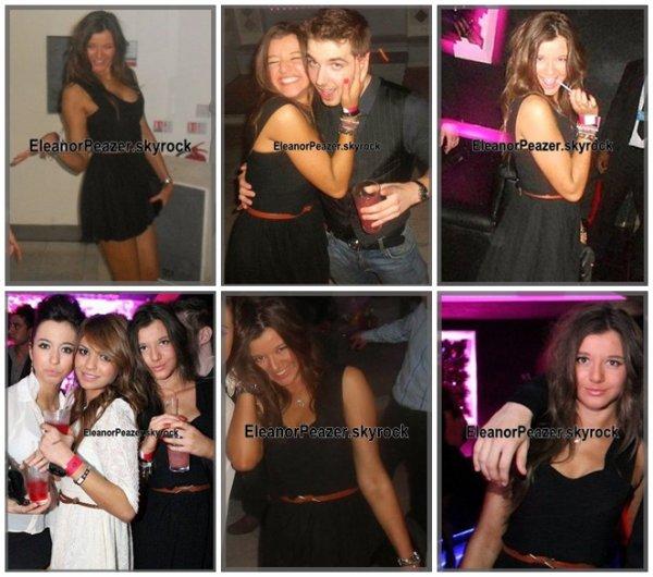 Danielle lors des répétitions, Eleanor dans un club, Danielle avec sa soeur et des amies + Lux.