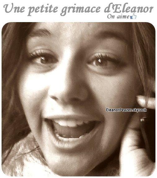 Eleanor a une soirée, Danielle danse pour Sheya, Une grimace d'Eleanor.