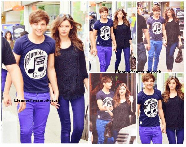 Louis et Eleanor, Liam et Danielle sur Twitter, Facts de Danielle + Hannah Walker