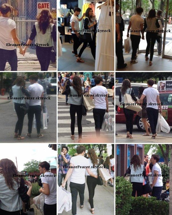 Eleanor et Louis, Danielle lors d'un photoshoot