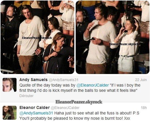 Eleanor et Andy, Danielle et ses amis, Eleanor et Louis a DisneyLand