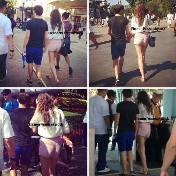Eleanor et Andy, Danielle et ses amis, Eleanor et Louis a DisneyLand