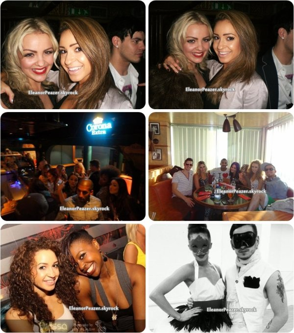 Eleanor avant et pendant le concert, Louanor, Danielle et des amis + Perrie
