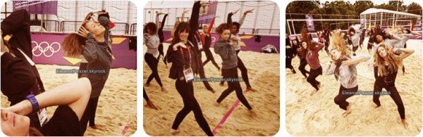 Instagram des filles, Dessin d'Eleanor, Danielle a l'entrainement, dessin de E.D.P, Rihanna chante HB