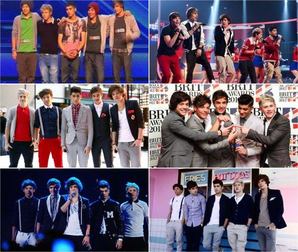 """Article """"spécial"""" : One Direction : Deux ans déjà."""