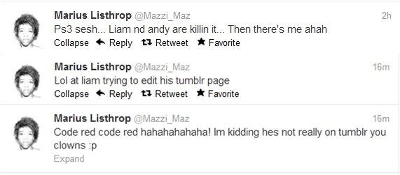 Quand Maz fait une blague..